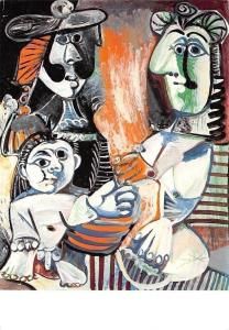 Pablo Picasso, La familie, Musees Nationaux The Family