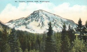 Mt. Tacoma - Altitude 14526 - Washington - DB