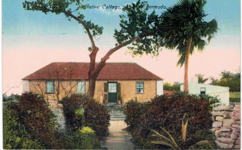 Bermuda Cottage  1910 Unused