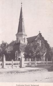 Presbyterian Church Springwood Australia Old Postcard