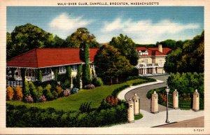 Massachusetts Brockton Campbello Walk-Over Club 1940