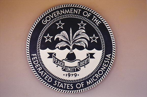 Micronesia Pohnpei Official Seal Government Of The Federayed States Of Micron...