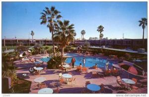 Arizona Scottsdale - Safari Hotel - swiming pool , 40-60s