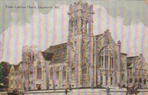 Church Trinity Lutheran Church Hagerstown Maryland
