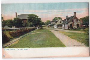 Main St, Yorktown VA / Tuck's 2336