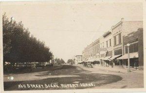 RP: RUPBERT ,  Idaho , 1910s ;  Street [2 punch Holes]
