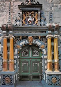 Hannover Muenden Rathausportal Town Hall Door Portal