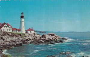 LIGHTHOUSE , 50-60s ; Portland Head Light , Maine #4