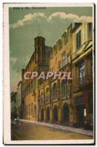 Postcard Old Koln am Rhein Gurzenich