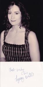 Lynsey Baxter Darling Buds Of May Dangerfield Hand Signed Card & Photo Ephemera