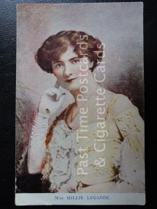 c1904 RPPC - Actress: Miss Millie Legarde