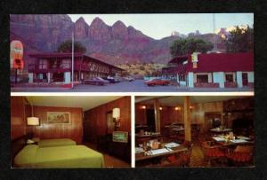UT Pioneer Lodge Motel & Restaurant SPRINGDALE UTAH PC