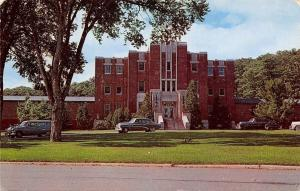 Togus Maine~Theater Building~Veterans Administration Center~1950s Postcard