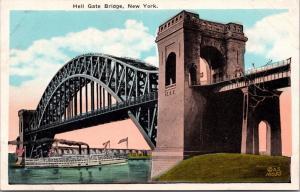 Hells Gate Bridge New York Postcard E31