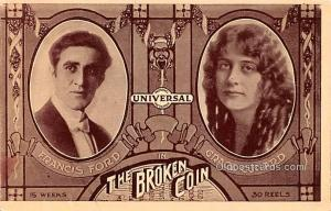The Broken Coin, Francis Ford, Grace Cunard Movie Star Actor Actress Film Sta...