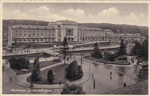 MULHOUSE, Haut-Rhin, France, 1900-1910's; La Nouvelle Gare