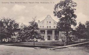 Washington DC Bliss Electrical School Takoma Park Dormirtory Albertype