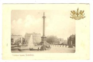 Scenic view,Trafalgar Square,London England,00-10s