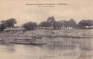 Afrique Occidentale Francaise, Port d'Athieme (Mono), Dahomey, Africa, 1900-1...