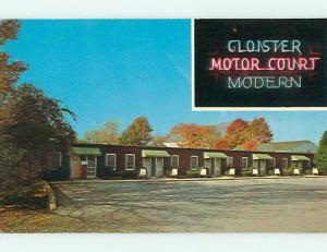 Unused Pre-1980 CLOISTER MOTEL Ephrata Pennsylvania PA u0301@