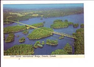 Bridge, Aerial  Thousand Islands, Ontario, Canada