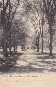 Tappan Walk and Memorial Arch,Oberlin,Ohio,00-10s