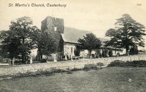 UK - England, Canterbury. St Martin's Church