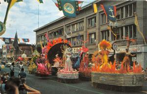 Minneapolis Minnesota~Aquatennial Parade~Colorful Float~1961 Postcard