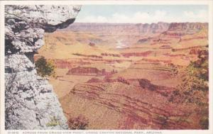 Arizona Grand Canyon Across From Grand View Point Fred Harvey Detroit Publishing