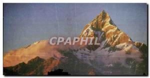 Postcard Old Machhapuchhare Nepal Pokhara