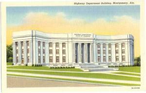 Highway Department Building, Montgomery, Alabama, AL, Linen