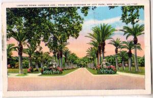 Anseman Ave. New Orleans LA