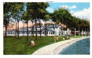 Wisconsin  Delvan Lake , Lake Lawn , Dance pavilion
