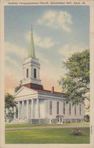 Illinois Alton Godfrey Congregational Church Estabished 1837