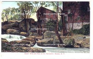 Deans' Mills & Falls on Hannacroix, Ravena NY