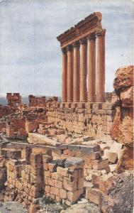 B94365 les six colonnes du temple de jupiter syria