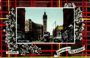 Scotland Greetings From Glasgow Showing Glasgow Cross