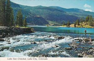 Colorado Lake City Fishing In Lake San Cristobal