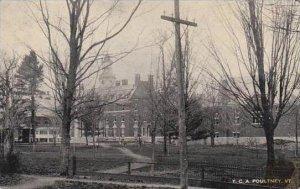 Vermont Poultney T C A 1919