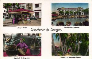 CPA Vietnam Indochine COCHINCHINE - Souvenir de Saïgon (62692)