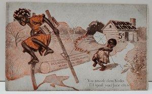 Postcard Advertising KORN KINKS Funny Card Kornelia Kinks