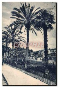 Postcard Old Nice A M the Albert I Gardens