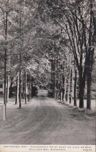 Wisconsin Lake Geneva Invitation Way Conference Point Camp 1940