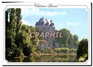Modern Postcard Chateauroux Indre Chateau Raoul the Banks of the Indre