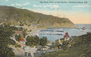 CATALINA ISLAND, California, 1925; The Main View of the Harbor