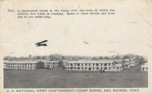 DES MOINES , Iowa , 1917 ; Camp Dodge