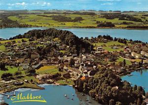 Mattsee Salzburg mit Schlossberg Niedertrumer und Obertrumersee