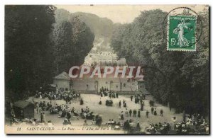 Postcard Old Saint Cloud Park in Allee du Fer a Cheval