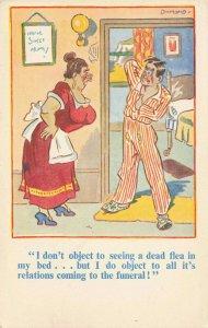 Comic Postcard Garland, Rudolf & Co. W103, Seaside Joke, Humour KM5