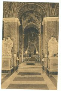 Italy, Rome, Roma, La Scala Santa, early 1900s unused Postcard